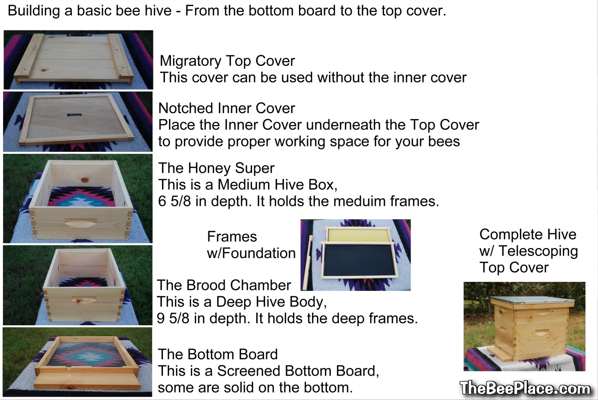 Bee Hive - Parts